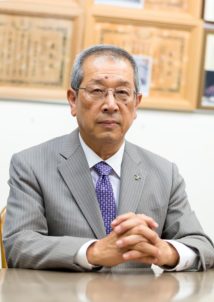代表取締役社長 富澤 博邦